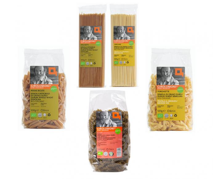 Girolomoni Organics pasta range